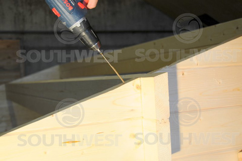 Secure gable fixing