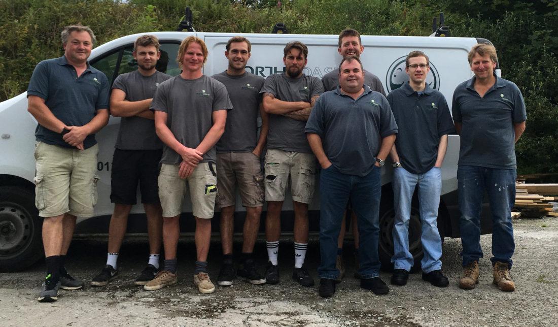 Log Cabins South West team