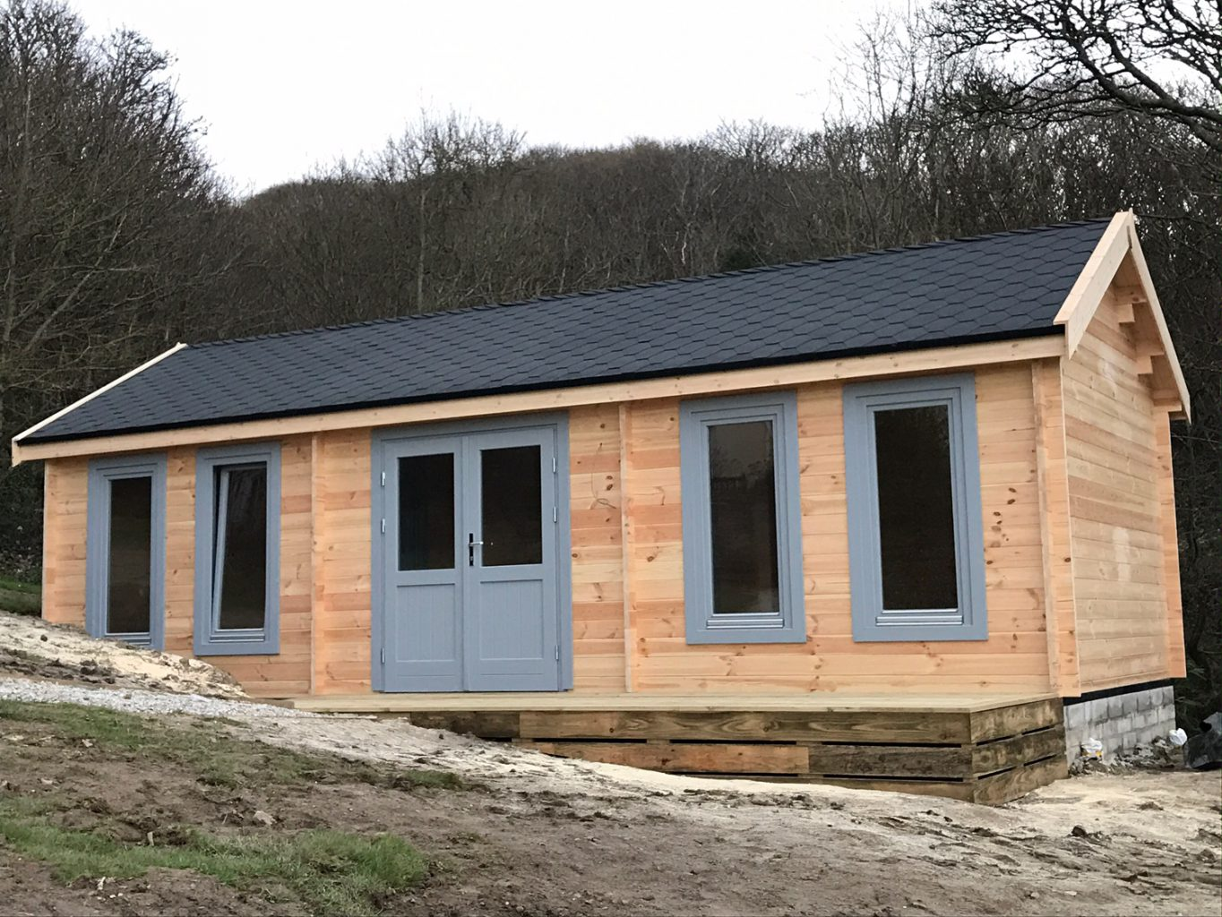 Bespoke Insulated Garden Building Cornwall South West
