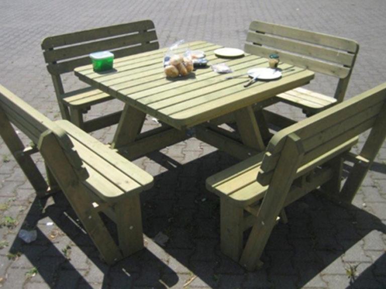 8 seat garden table