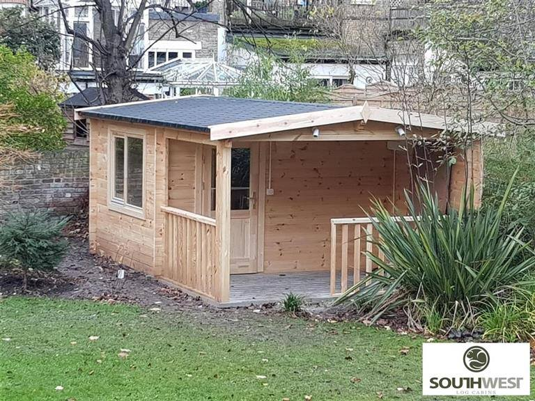 Residential Log Cabins Designed And Built By South West Log Cabins